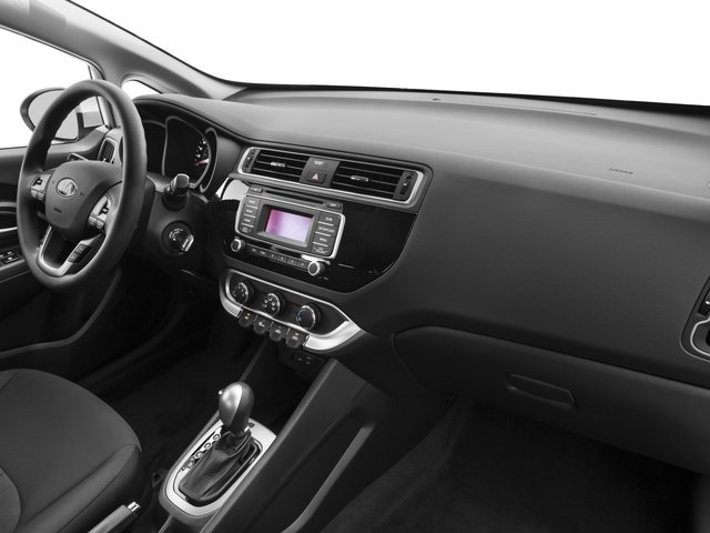 2016 Kia Rio Prices and Values Sedan 4D LX I4 passenger's dashboard