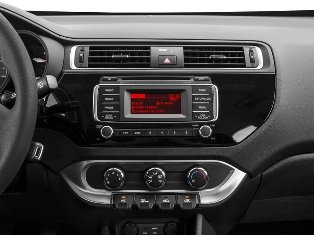 2016 Kia Rio Prices and Values Hatchback 5D LX I4 stereo system