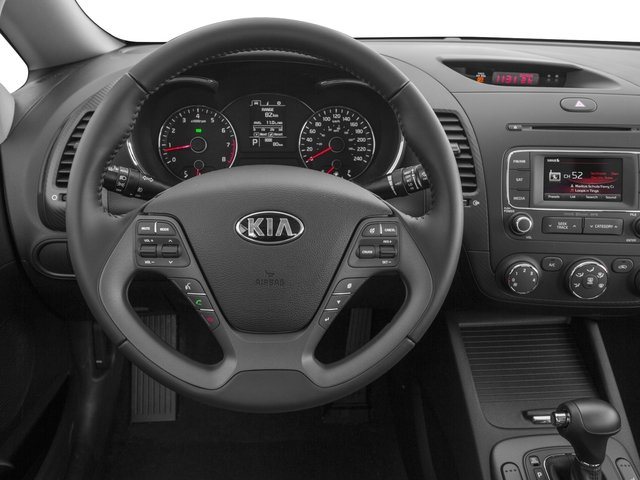 2016 Kia Forte Pictures Forte Sedan 4D LX I4 photos driver's dashboard