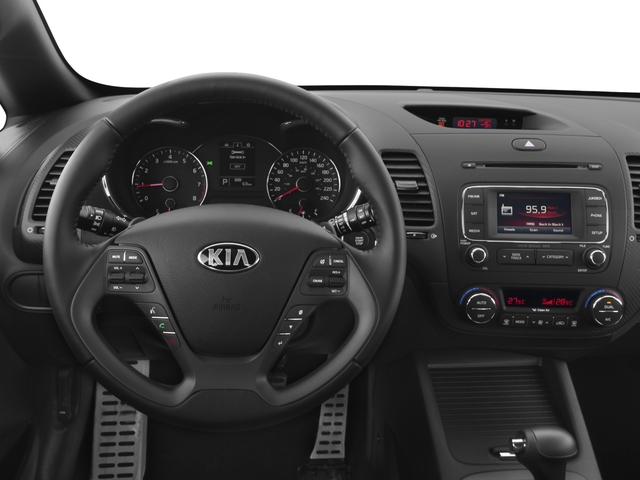 2016 Kia Forte 5-Door Prices and Values Hatchback 5D SX Technology I4 Turbo driver's dashboard