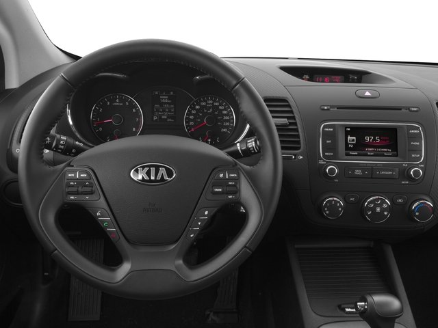 2016 Kia Forte Koup Prices and Values Coupe 2D SX Technology I4 driver's dashboard