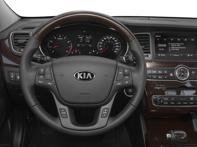 2016 Kia Cadenza Pictures Cadenza Sedan 4D V6 photos driver's dashboard