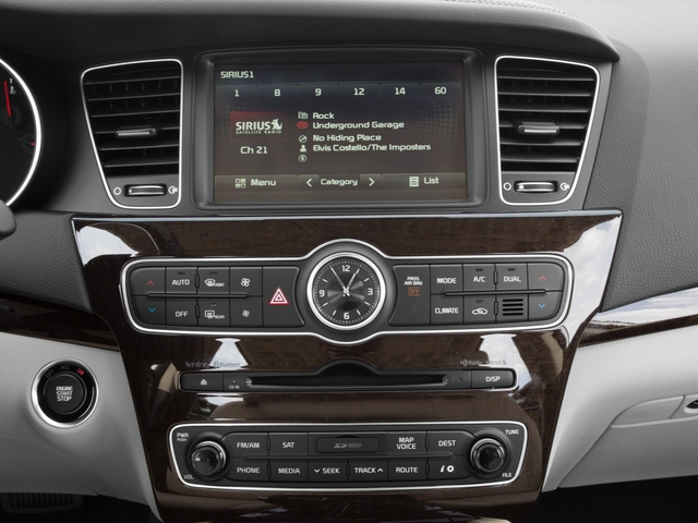 2016 Kia Cadenza Prices and Values Sedan 4D Premium V6 stereo system