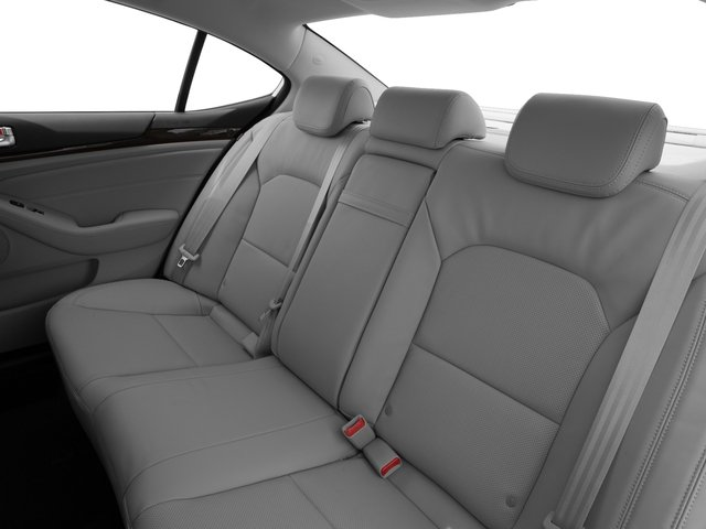 2016 Kia Cadenza Prices and Values Sedan 4D Premium V6 backseat interior