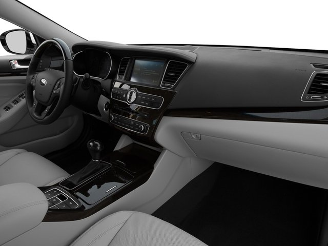 2016 Kia Cadenza Prices and Values Sedan 4D Premium V6 passenger's dashboard