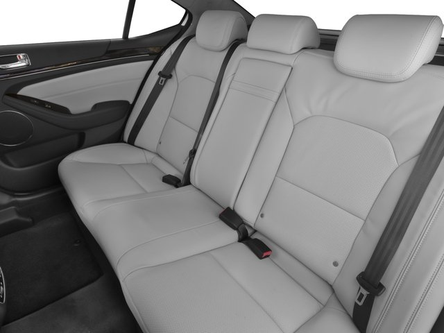 2016 Kia Cadenza Pictures Cadenza Sedan 4D Limited V6 photos backseat interior