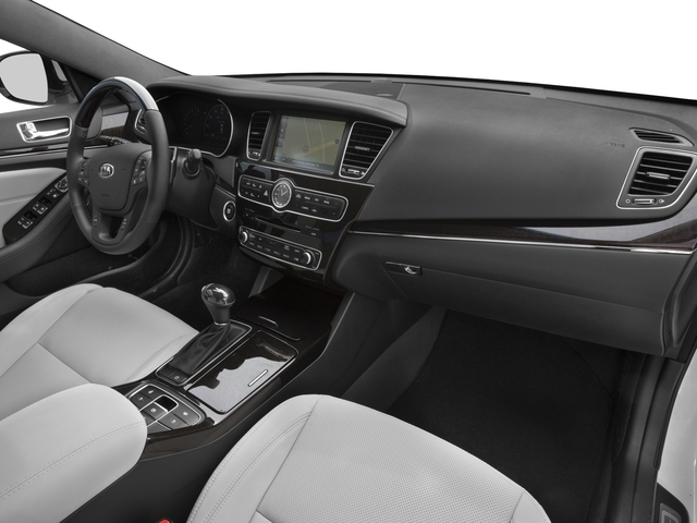 2016 Kia Cadenza Prices and Values Sedan 4D Limited V6 passenger's dashboard