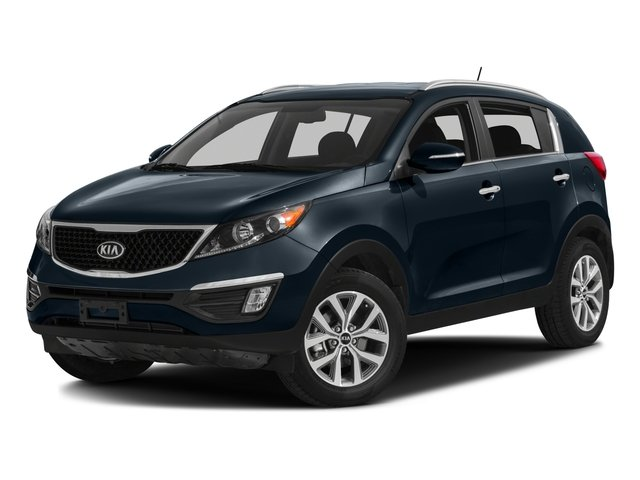2016 Kia Sportage Pictures Sportage Utility 4D EX 2WD I4 photos side front view