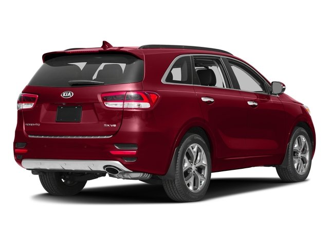 2016 Kia Sorento Pictures Sorento Utility 4D SX 2WD V6 photos side rear view