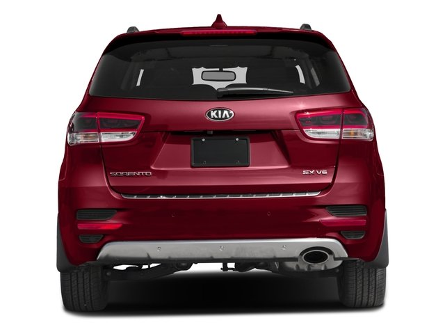 2016 Kia Sorento Pictures Sorento Utility 4D SX 2WD V6 photos rear view