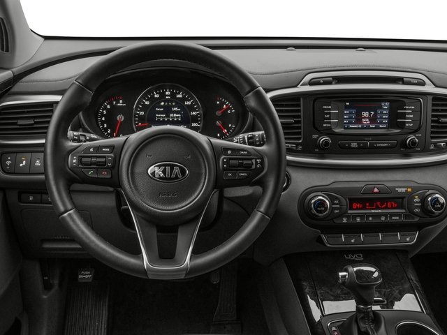 2016 Kia Sorento Prices and Values Utility 4D EX 2WD V6 driver's dashboard