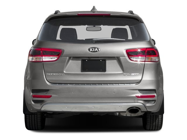 2016 Kia Sorento Prices and Values Utility 4D SX Limited 2WD V6 rear view