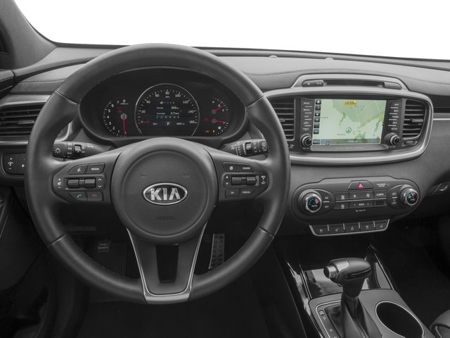 2016 Kia Sorento Prices and Values Utility 4D SX Limited 2WD V6 driver's dashboard