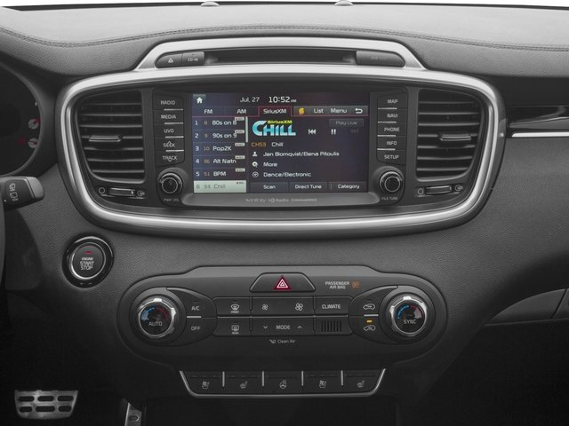 2016 Kia Sorento Prices and Values Utility 4D SX Limited 2WD V6 stereo system