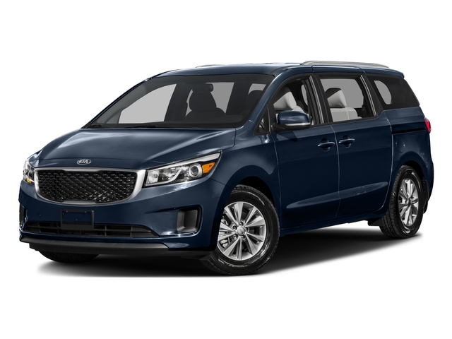2016 Kia Sedona Pictures Sedona Wagon EX V6 photos side front view