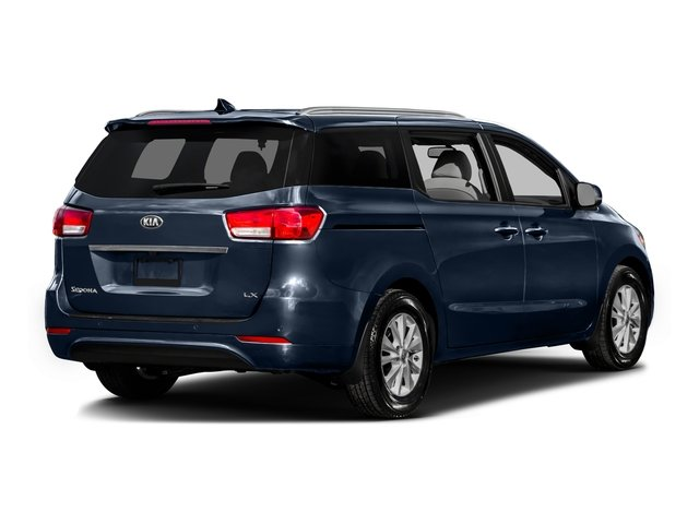 2016 Kia Sedona Pictures Sedona Wagon EX V6 photos side rear view