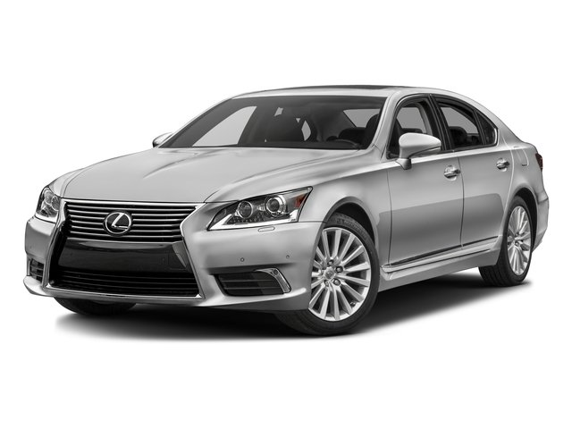 2016 Lexus LS 460 Prices and Values Sedan 4D LS460L V8 side front view