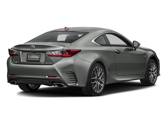 2016 Lexus RC 350 Prices and Values Coupe 2D RC350 V6 side rear view