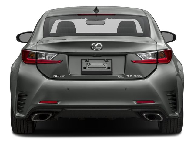 2016 Lexus RC 350 Prices and Values Coupe 2D RC350 V6 rear view