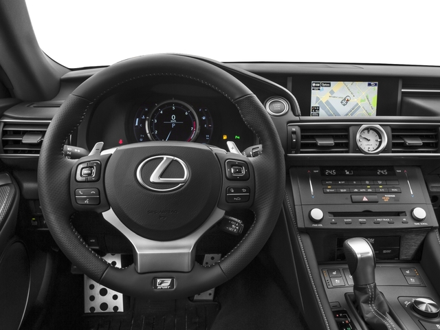 2016 Lexus RC 350 Prices and Values Coupe 2D RC350 V6 driver's dashboard