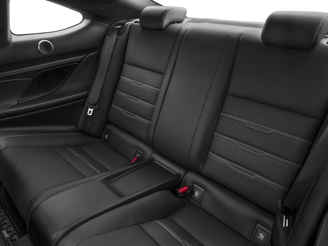 2016 Lexus RC 350 Prices and Values Coupe 2D RC350 V6 backseat interior