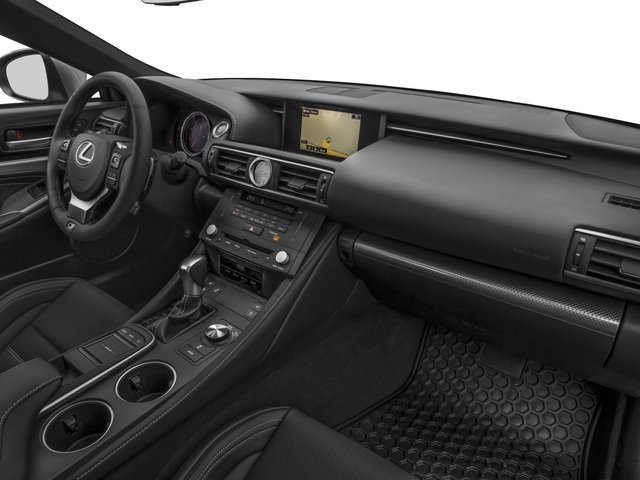 2016 Lexus RC 350 Prices and Values Coupe 2D RC350 V6 passenger's dashboard