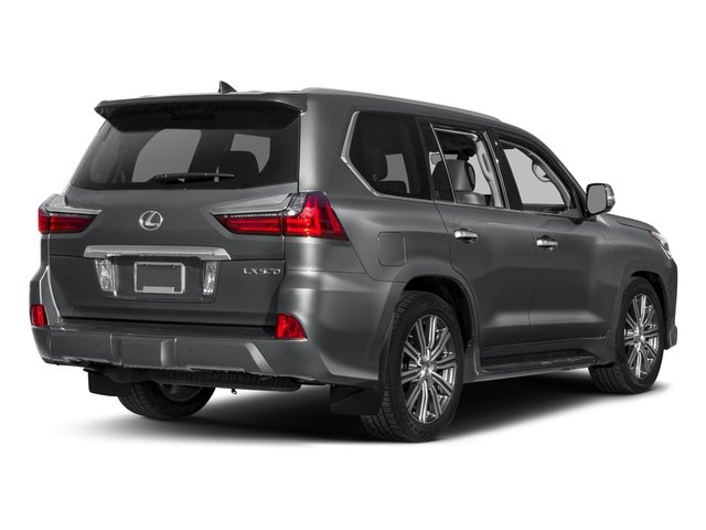2016 Lexus LX 570 Prices and Values Utility 4D 4WD V8 side rear view