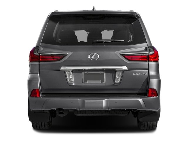 2016 Lexus LX 570 Prices and Values Utility 4D 4WD V8 rear view