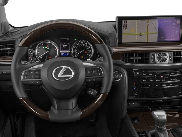 2016 Lexus LX 570 Prices and Values Utility 4D 4WD V8 driver's dashboard