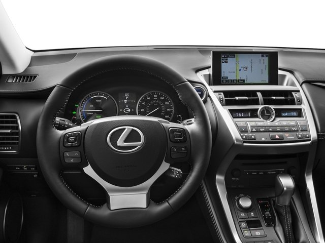 2016 Lexus NX 300h Prices and Values Utility 4D NX300h AWD I4 Hybrid driver's dashboard