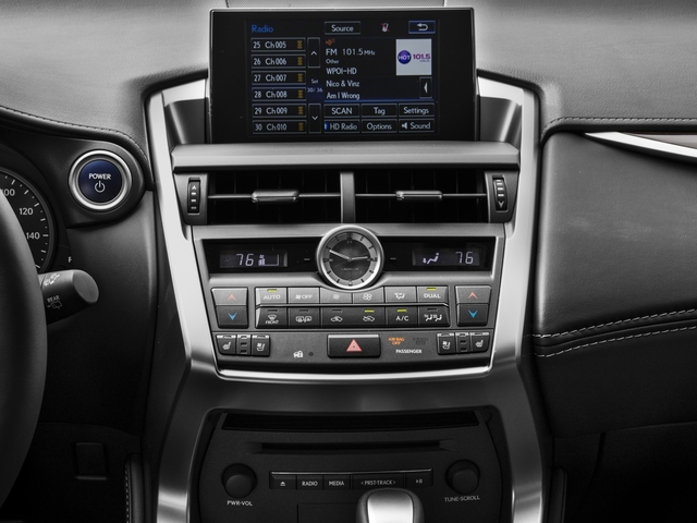 2016 Lexus NX 300h Prices and Values Utility 4D NX300h AWD I4 Hybrid stereo system