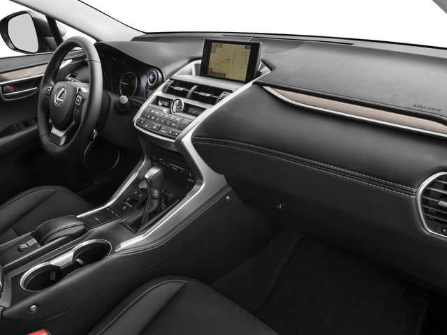 2016 Lexus NX 300h Prices and Values Utility 4D NX300h AWD I4 Hybrid passenger's dashboard