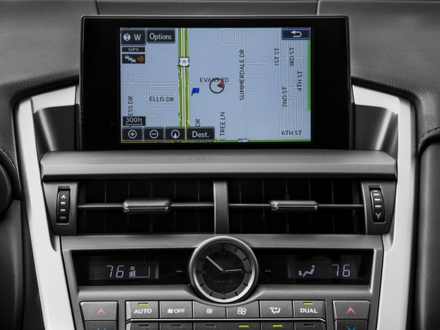2016 Lexus NX 300h Prices and Values Utility 4D NX300h AWD I4 Hybrid navigation system