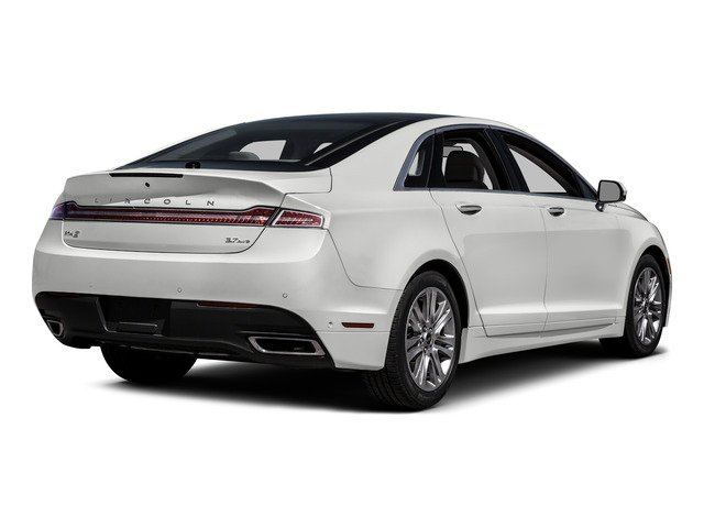 2016 Lincoln MKZ Prices and Values Sedan 4D V6 side rear view
