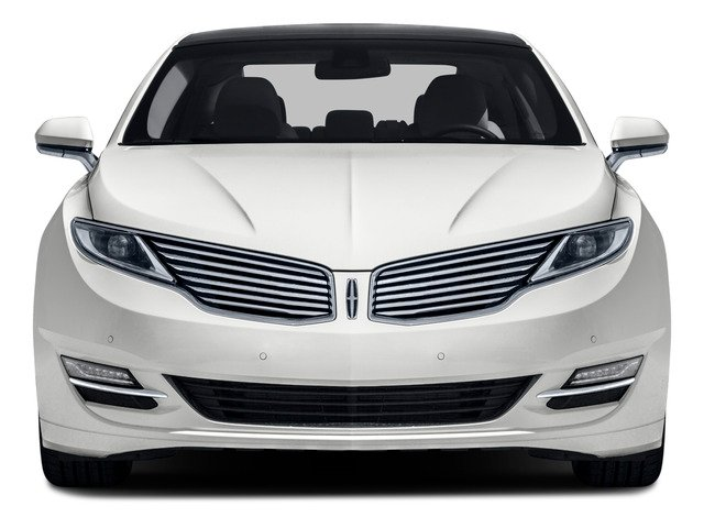 2016 Lincoln MKZ Prices and Values Sedan 4D V6 front view