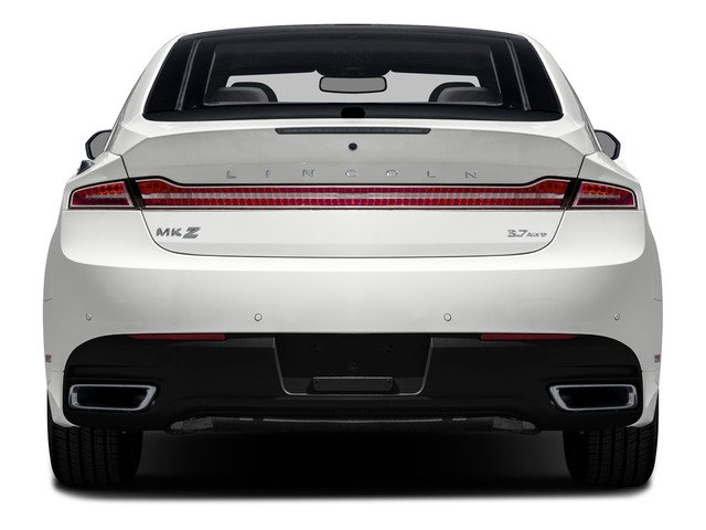 2016 Lincoln MKZ Prices and Values Sedan 4D V6 rear view