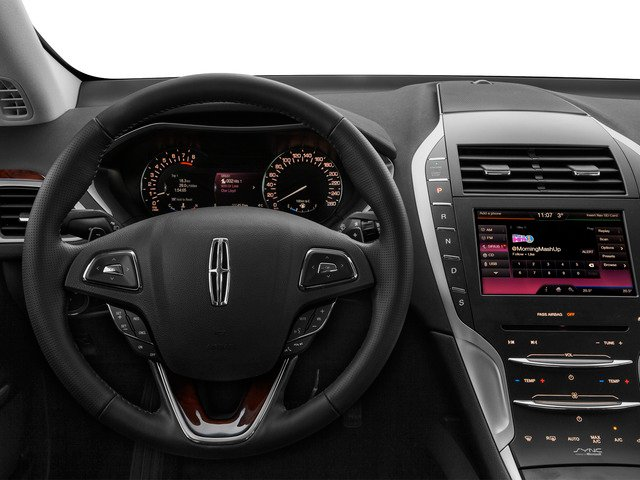 2016 Lincoln MKZ Prices and Values Sedan 4D V6 driver's dashboard