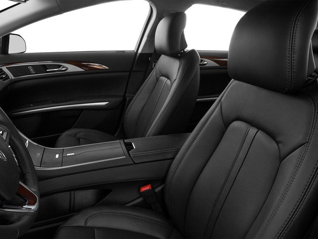 2016 Lincoln MKZ Prices and Values Sedan 4D V6 front seat interior