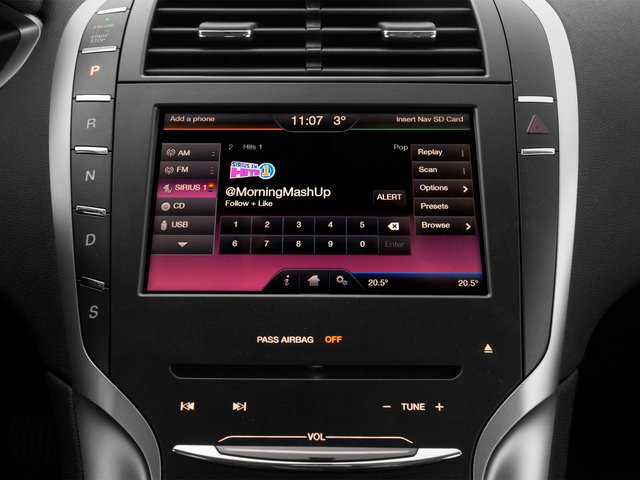 2016 Lincoln MKZ Prices and Values Sedan 4D V6 stereo system