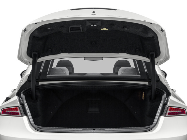 2016 Lincoln MKZ Prices and Values Sedan 4D V6 open trunk
