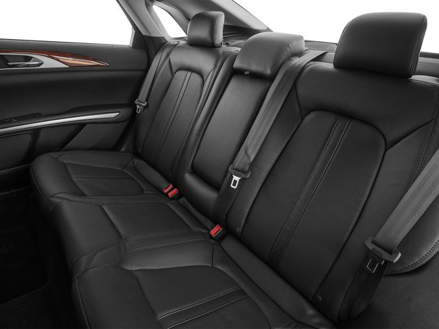 2016 Lincoln MKZ Prices and Values Sedan 4D V6 backseat interior