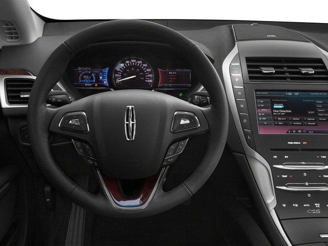 2016 Lincoln MKZ Pictures MKZ Sedan 4D Black Label I4 Hybrid photos driver's dashboard