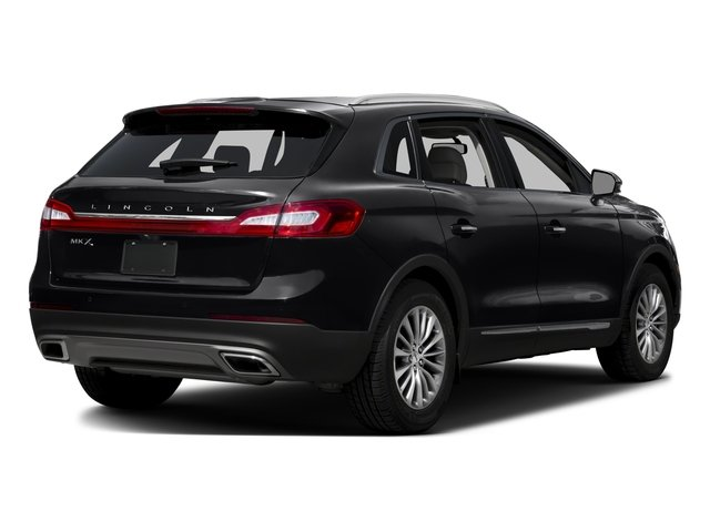 2016 Lincoln MKX Prices and Values Util 4D Black Label EcoBoost AWD V6 side rear view