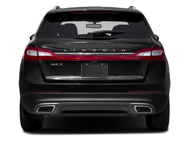 2016 Lincoln MKX Prices and Values Util 4D Black Label EcoBoost AWD V6 rear view