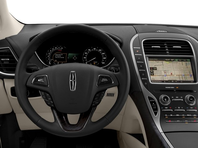 2016 Lincoln MKX Prices and Values Util 4D Black Label EcoBoost AWD V6 driver's dashboard