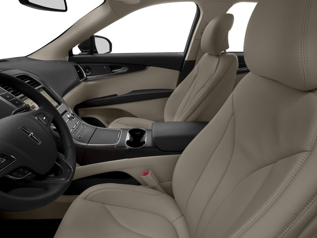 2016 Lincoln MKX Prices and Values Util 4D Black Label EcoBoost AWD V6 front seat interior