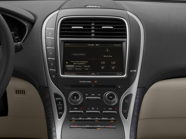 2016 Lincoln MKX Prices and Values Util 4D Black Label EcoBoost AWD V6 stereo system