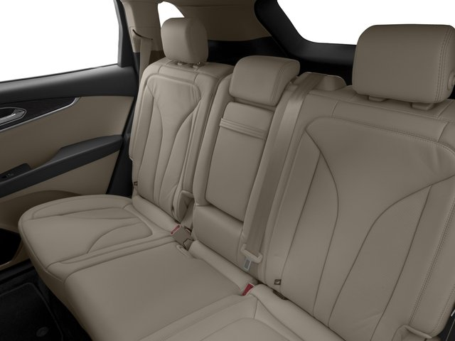 2016 Lincoln MKX Prices and Values Util 4D Black Label EcoBoost AWD V6 backseat interior