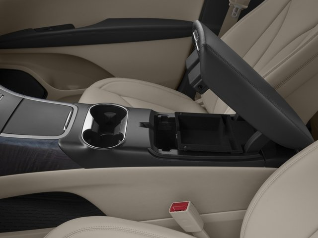 2016 Lincoln MKX Prices and Values Util 4D Black Label EcoBoost AWD V6 center storage console