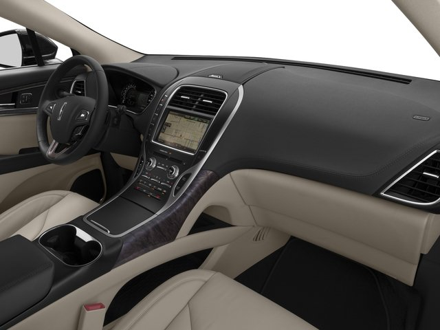 2016 Lincoln MKX Prices and Values Util 4D Black Label EcoBoost AWD V6 passenger's dashboard